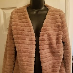 Jackets & Blazers - Ladies Faux Fur Teddy Coat